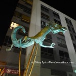 Chinatown dragons. 9th and Arch St.