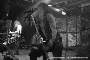 E. from Watain's performance at Baltimore Soundstage, Nov. 2013.