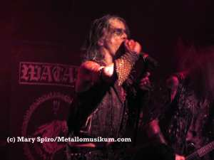 Erik Danielsson of Watain. Brooklyn Night Bazaar. June 15.